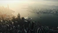 航拍上海江边建筑 城市高楼大厦高清实拍视频素材