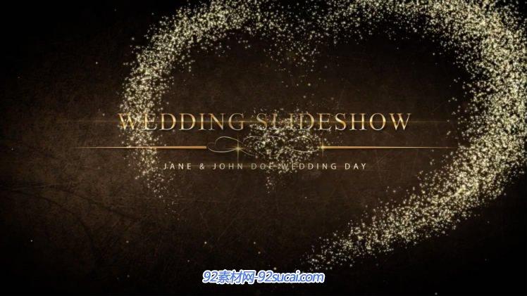 唯美粒子婚庆婚礼电子相册预告片-wedding-pack-ii
