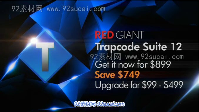AE插件必��:�t巨人Red Giant Trapcode Suite 12.1.6 Win/Mac�m用