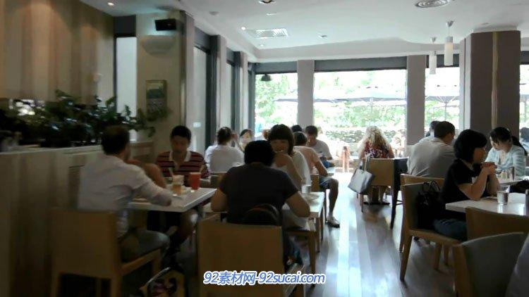 新元素餐饮企业酒店宣传片 服务类行业餐厅厨师做菜广州城市镜头