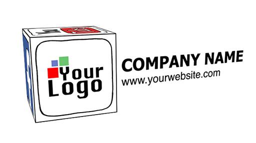 社交网络立方体卡通展示AE模板 Social Network Cube Cartoon Sty