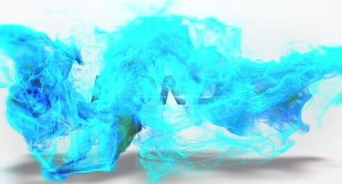 水彩流体收场引见AE模板-fluid-opener
