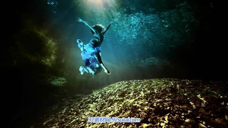 墨西哥自然独立音乐纪录片-9 Esto es Mexico女子与湖水自然风光