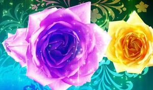 喜庆中国结鲜花朵朵盛开红灯笼新年春节联欢晚会LED舞台背景视频