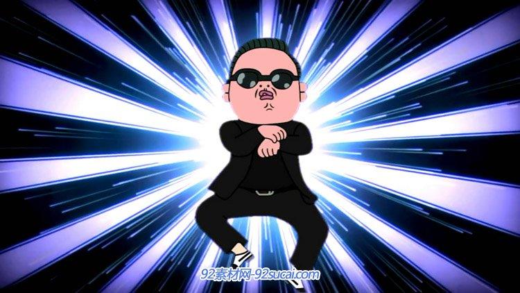 鸟叔江南st<x>yle 歌曲舞蹈定制版大屏幕LED舞台配景视频