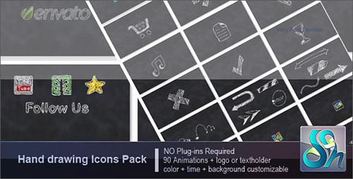 素描AE素材包 Hand Drawing Pack