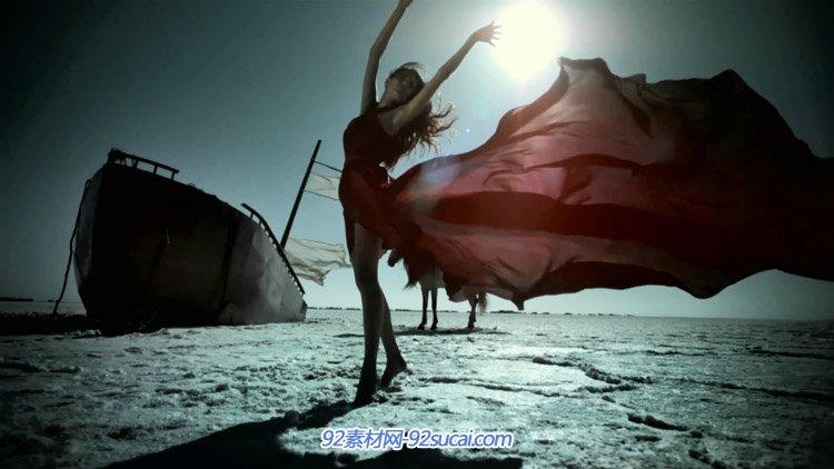 天然景色墨西哥天然独立音乐记录片-12 Esto es Mexico 骏马奔驰