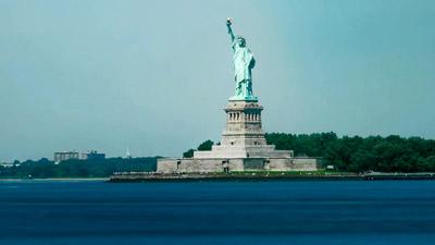 延时拍照纽约都会宣传片NEW YORK 都会夜景交通商务大楼高清实拍