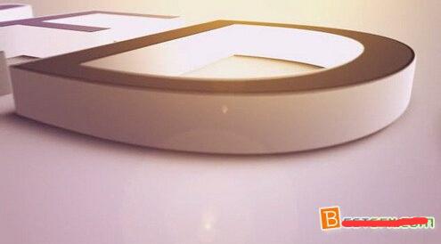 巨型三维质感logo标记展现AE模板 Huge 3D Extruded Logo