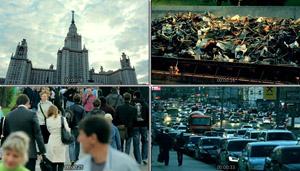 Moscow SlowMotion 莫斯科-慢动作下的城市人物生活高清实拍素材