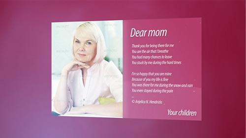 38妇女节专题引见栏目包装图文展现AE片头模板 Women's Day