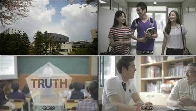 明知大学学校宣传片 学生学院教育课堂企业培训高清视频实拍素材