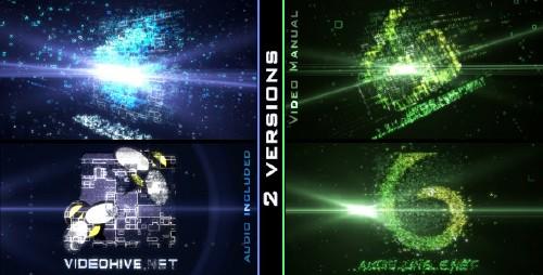 数字信息转变2AE模板素材 Digital Transform 2