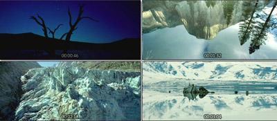 诺克卢福国家公园勃朗峰莫诺盐湖日夜大自然风光风景高清实拍素材