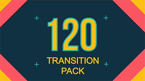 120組動感視頻轉場AE素材包-Transitions Pack