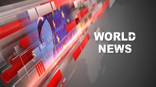 AE模板-广播电台新闻类栏目包装视频模板 Broadcast News Pack