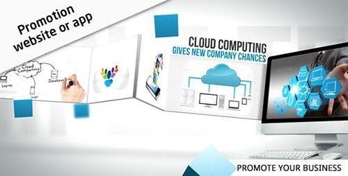 ae模板-网站网络手机使用app产物宣传推行视频模板 Website / App
