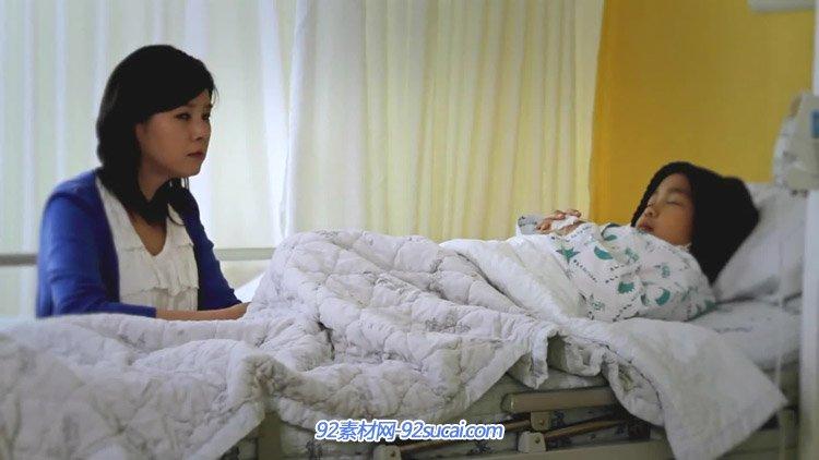 盆唐首尔大学医院患病儿童感人宣传片 医院急