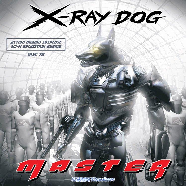 镭射狗 X-Ray Dog-CD70 Master(flac)大气震撼气势的背景配乐素材