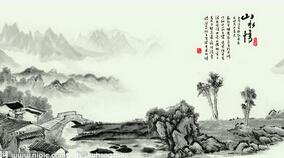 水墨中国风AE片头模板