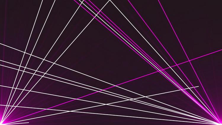 激光影射线条运动动画高清动态视频素材 vj loops lasers