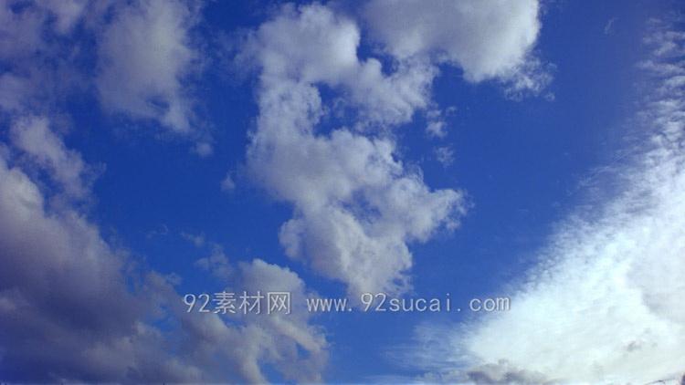 8个高清实拍素材 天空云飞翔 天空的云变化 高清动态视频素材