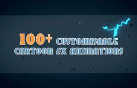 动态卡通动漫特效视频素材AE工具包-dynamic-cartoon-fx-pack