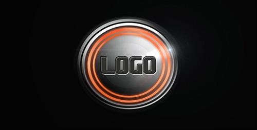 高速旋转LOGO标志视频素材 High Speed Logo