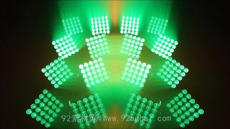 動感舞臺燈光秀 光效光影炫麗LED素材VJ動態視頻背景素材