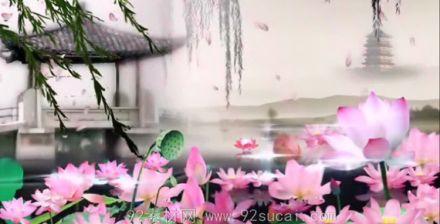 水墨中國風視頻素材