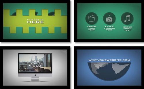 商务企业产物宣传推行引见展现AE模板 Business & Promotional