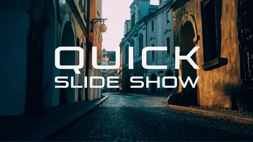 快速预览图片幻灯片视频模板 Quick Slide Show