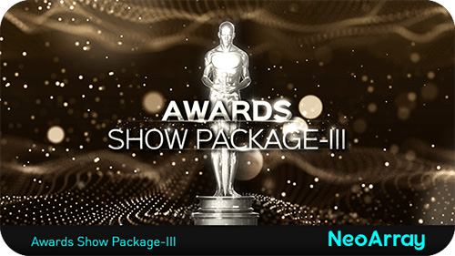 高清奥斯卡庸俗影戏电视栏目颁奖晚会包装AE视频片头模板