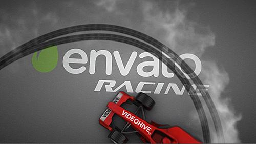 F1赛车漂移宣传片ae模板F1 Car Drift Logo