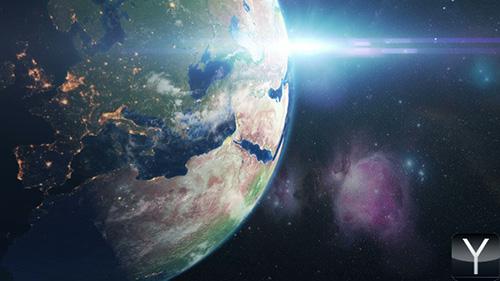 太阳系行星ae模板Solar Planets Space Pack