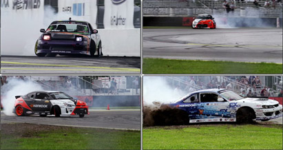 [4K超高清]赛车场上疯狂赛车 飙车汽车飘移动作特写高清实拍视频
