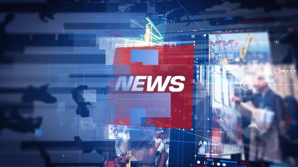 财经资讯_财经,娱乐,政治新闻节目包装ae模板news pro