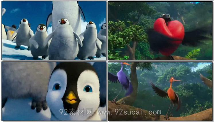 江南Style 动感卡通儿童动画视频 歌曲背景婚礼开场动态视频素材