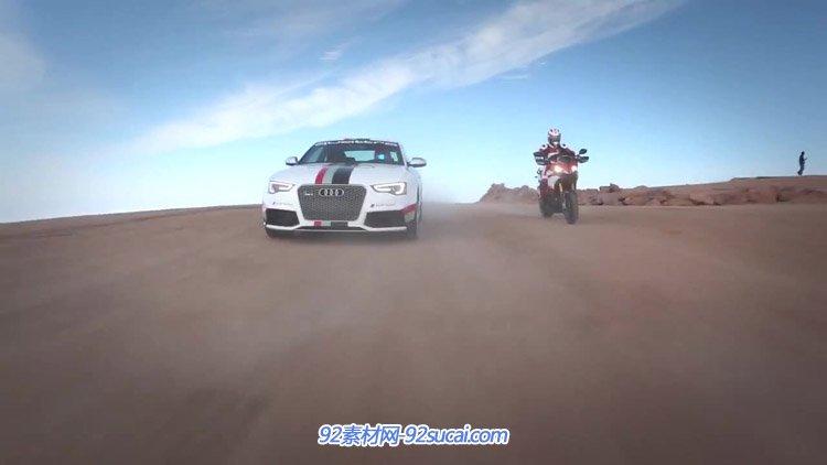 Ducati杜卡迪公司抽象宣传片 摩托车消费技能研讨摩托赛车场实拍
