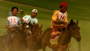2组草原上骑马 草原上赛马的高清实拍视频素材