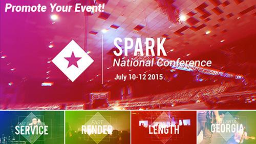 活动聚会产品推销广告宣传 AE模板 Event and Conference Promo