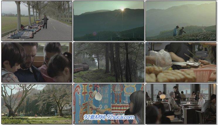 台湾形象宣传片 旅游文化风土民情美食商场寺庙交通地铁高清实拍