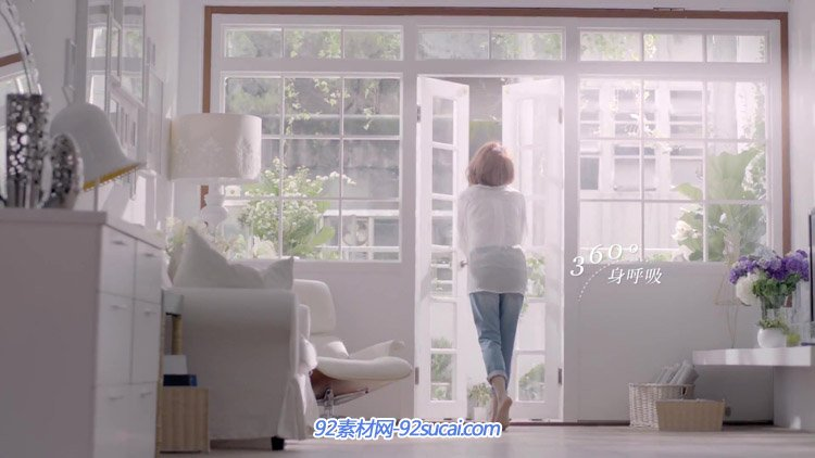 维多利亚牛仔裤形象宣传片都市女子居家休闲服饰阳光生活高清实拍