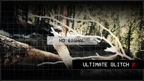 画面故障失真预设特效过度片头视频素材 Ultimate Glitch 2