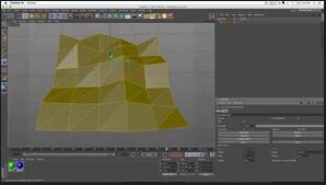 C4D教程-动画制造造型东西和感觉器与缓存标签