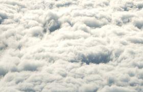 唯美震撼大气的天空云海 翻滚的云层云卷 高清动态视频素材