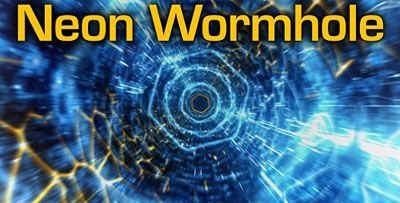 AE模板 穿越高科技霓虹灯虫洞漩涡超空间时空隧道