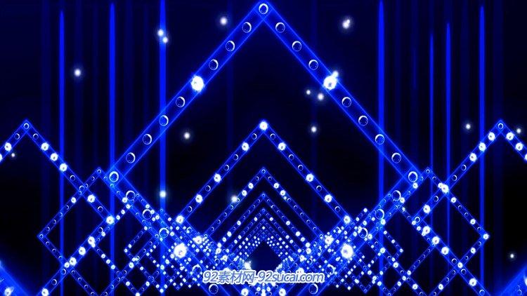 科技炫光隧道 射灯动感舞台灯光VJ师动画高清动态背景视频