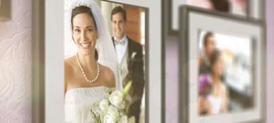 AE模板 浪漫婚庆家庭旅游电子相册照片墙幻灯片展示 AE素材