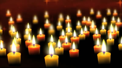 视频素材 感恩父母爱心蜡烛教师节祈福母亲节led晚会舞台背景